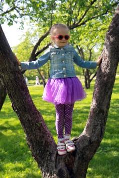 Лиза, 5 лет. Железнодорожный