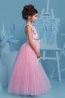 """Нарядное платье """"Триана"""" с пышной юбкой розового цвета."""