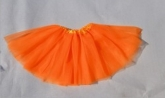 Юбка Туту оранжевого цвета.
