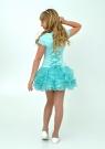 """Элегантное платье """"Лиззи"""" цвета ментол с болеро."""