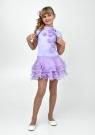 """Элегантное платье """"Лиззи"""" сиреневого цвета с болеро."""