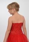"""Нарядное платье """"Констанция"""" красного цвета."""
