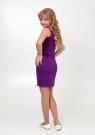 """Нарядное платье """"Мира"""" фиолетового цвета."""