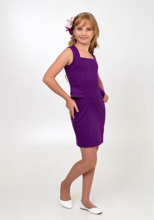 """Нарядное платье """"Мира"""" фиолетового цвета.Элегантное платье для настоящих модниц. Платье идеально для любых случаев и торжеств."""