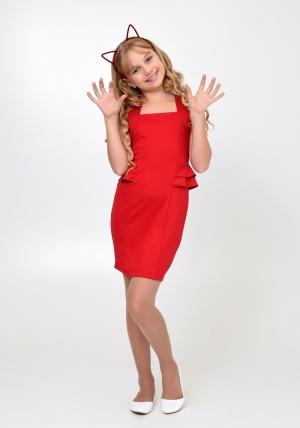 """Нарядное платье """"Мира"""" красного цвета. Элегантное платье для настоящих модниц. Платье идеально для любых случаев и торжеств."""