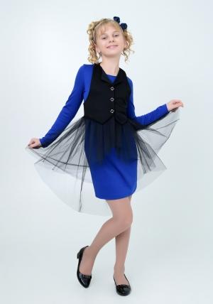 Нарядное трикотажное платье трансформер цвета электрик.Элегантное платье для настоящих модниц. Идеальный наряд на праздник, день рождение или выпускной.
