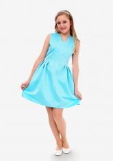 """Нарядное платье """"Иванна"""" цвет тиффани."""