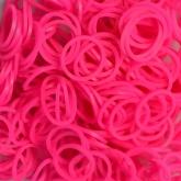Резиночки для плетения ярко-розовые 1000 шт.