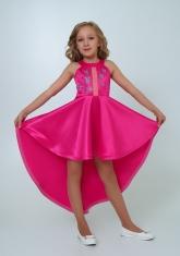 """Нарядное платье """"Эрика"""" малиновый цвет."""