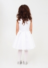 """Нарядное платье """"Лада"""" цвет белый."""