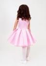"""Нарядное платье """"Лада"""" цвет розовый."""