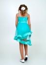"""Элегантное платье с болеро """"Любава"""" ментолового цвета."""