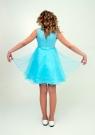"""Нарядное платье """"Елена"""" бирюзовый цвет."""