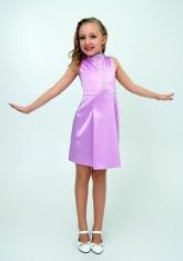 """Нарядное платье """"Алёна"""" сиреневого цвета."""