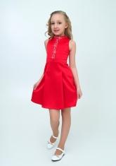 """Нарядное платье """"Алёна"""" цвет гранатовый."""