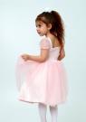 """Нарядное платье """"Лина"""" цвет персиковый."""
