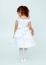 """Нарядное платье """"Ия"""" цвет белый."""