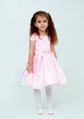 """Нарядное платье """"Ия"""" цвет розовый."""