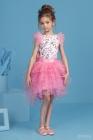 """Нарядный комплект """"Даниэла"""" с пышной юбкой розового цвета."""