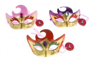 """Карнавальная маска """"Тайна"""" - прекрасный выбор для создания атмосферы праздника. У каждого из нас есть любимый праздник, которого он ждет с нетерпением! Это может быть Новый Год или День Рождения, 8 Марта или 23 Февраля, когда вы просыпаетесь с утра с улыбкой и готовы делиться хорошим настроением со всеми. Данная маска поможет сохранить интригу на празднике и будет служить отличным аксессуаром."""