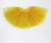 Юбка Туту  желтого цвета.