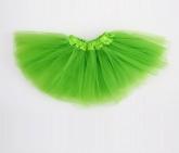 Юбка Туту ярко-зеленого цвета.