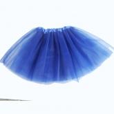 Юбка Туту синего цвета.