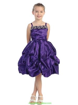 """Нарядное платье """"Гретта"""" фиолетового цвета с шарфиком.Красивое платье на тонких бретельках с оригинальным корсетом и пышной юбкой. Данное платье идеально для праздников. Длина указана с лямками."""