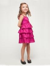 """Нарядное платье """"Кэтти"""" малинового цвета."""