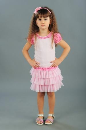 Нарядная юбка с оборками розового цвета.Эластичный пояс из трикотажного полотна. Красивая юбочка для маленьких модниц!
