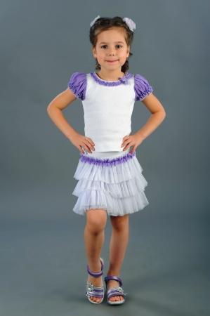 Нарядная юбка бело-сиреневого цвета.с оборками из нежной мягкой сетки. Эластичный пояс из трикотажного полотна. Красивая юбочка для самых маленьких модниц!