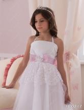 """Нарядное платье """"Аделия"""" с кружевом."""