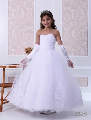 """Нарядное платье """"Блэр"""" с пышной юбкой. Оригинальное платье с нежным рисунком на юбке и корсете, что делает платье сказочно красивым! Бальное латье для девочек разного возраста за счет того, что оно корсетное и поэтому регулируется в объеме. Любая девочка в этом платье почувствует себя королевой на балу!"""