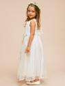 """Нарядное платье с цветочками """"Гелена""""."""