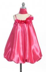"""Нарядное платье """"Белла"""" малинового цвета."""