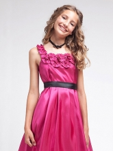 """Нарядное платье """"Хейли"""" малинового цвета."""