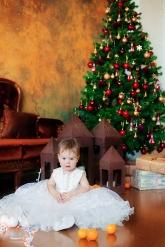 """Нарядное платье для малышек """"Зефир""""."""