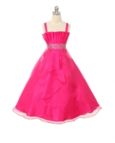 """Нарядное платье """"Гелла"""" малинового цвета."""