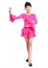 """Платье для танцев """"Кармелита"""" малинового цвета."""