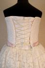 """Нарядное платье """"Оксана"""" с кружевом и пышной юбкой."""
