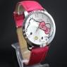 Стильные Часы Hello Kitty на ремешке.