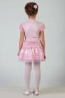 Нарядная юбка с мелкими оборками.