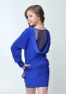 """Элегантное платье """"Анастасия""""  синего цвета."""