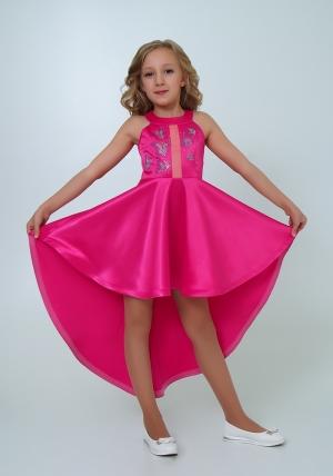 """Нарядное платье """"Эрика"""" малиновый цвет.Элегантное платье для настоящих модниц и красавиц. Оригинальное платье для девочек."""