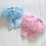 """Детские леггинсы с юбочкой """"Малышка"""" голубого цвета."""