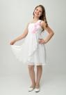 """Нарядное платье """"Алиса"""" с цветочками и болеро."""