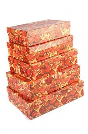 """Подарочная коробка прямоугольная """"Шары"""". Подарочная коробка идеальна для упаковки подарка. На выбор представлены несколько размеров."""