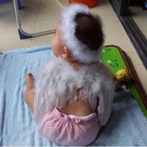 """Детский набор """"Ангелочек"""". В набор входит крылья и ободок. Прекрасный вариант для фотосессии малышей."""