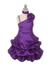 """Нарядное платье """"Клеменс"""" фиолетового цвета."""