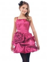 """Нарядное платье """"Мэгги"""" малинового цвета."""